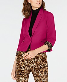 INC Cropped Blazer, Created for Macy's