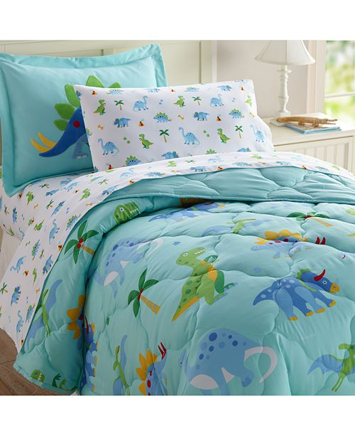 Wildkin Dinosaur Land 5 Pc Bed in a Bag - Twin