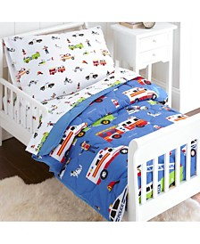 Wildkin's Heroes 4 Pc Bed in a Bag - Toddler