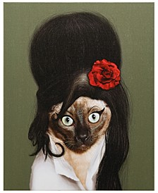 Pets Rock 'Tattoo' Graphic Art on Wrapped Canvas Wall Art - 20'' x 16''