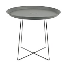 Plat-O Outdoor Side Table, Quick Ship