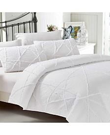 California Design Den Cotton 2-Piece Quilt Set, Twin/Twin XL