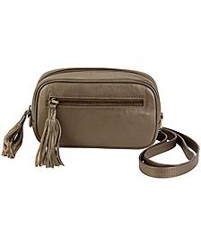 Hadaki Crossbody Leather Fanny Pack