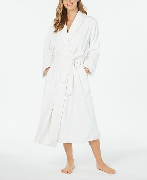 Charter Club Super Soft Plush Long Robe, Created For Macy's