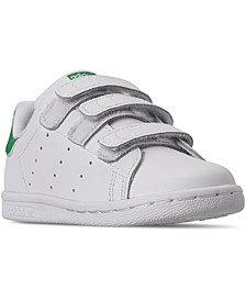 Toddler Stan Smith Stay-Put Closure Casual Sneakers from Finish Line