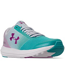 Under Armour Big Girls Surge Prism Running Sneakers from Finish Line