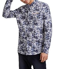 Men's Abstract Print Shirt