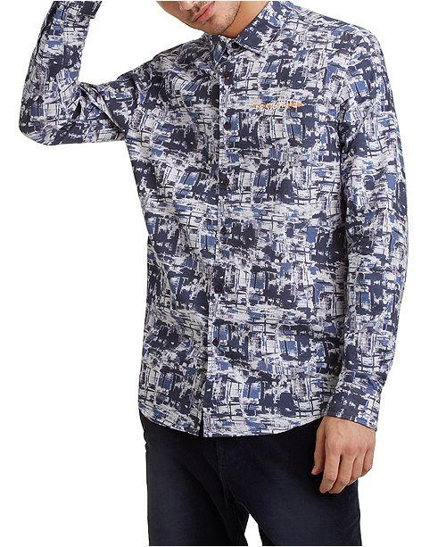 Desigual Men's Abstract Print Shirt