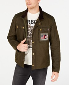 Barbour International Steve McQueen  Men's Ashbury Wax Jacket, Created For Macy's