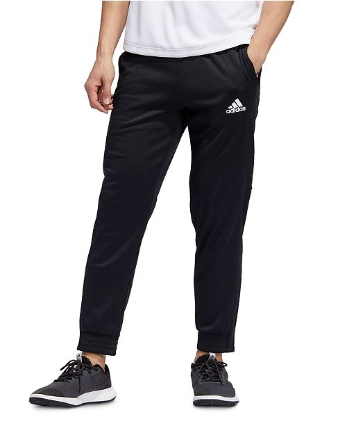 adidas fleece joggers mens