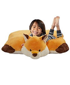 Pillow Pets Signature Jumboz Wild Fox Oversized Stuffed Animal Plush Toy