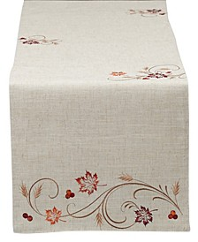 Table Runner Autumn Wheat