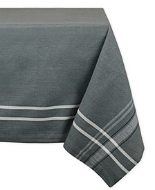 "French Chambray Tablecloth 60"" x 84"""