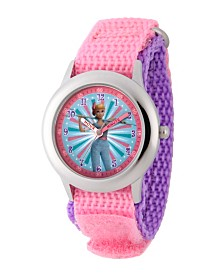 EwatchFactory Girl's Disney Toy Story 4 Bo Peep Pink Stainless Steel Time Teacher Strap Watch 32mm