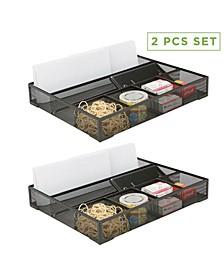 2 Piece Deep Storage Drawer Organizer