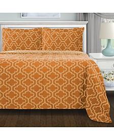 Superior Flannel Cotton Duvet Cover Set - Full/Queen