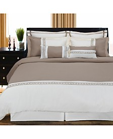 Superior Emma 7 Piece Duvet Cover Set - King/California King