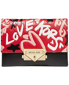 MICHAEL Michael Kors Small Leather Card Case