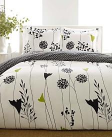 Perry Ellis Asian Lily King Comforter Set