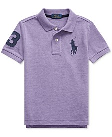 Little Boys Cotton Mesh Polo Shirt