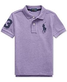 Polo Ralph Lauren Little Boys Cotton Mesh Polo Shirt