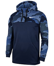 Men's Therma Camo-Print Training Hoodie