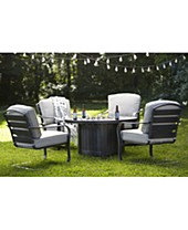 Fire Pit Patio Furniture Bar Accessories On Sale Clearance Closeout Deals Macy S