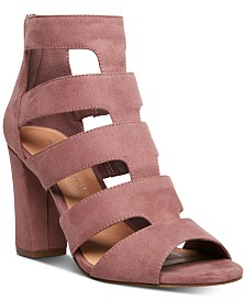 Madden Girl Bolt Caged Sandals