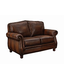 Coaster Home Furnishings Montbrook Loveseat with Rolled Arms