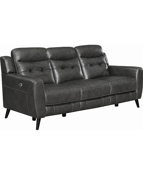 Coaster Home Furnishings Lantana Upholstered Power Sofa