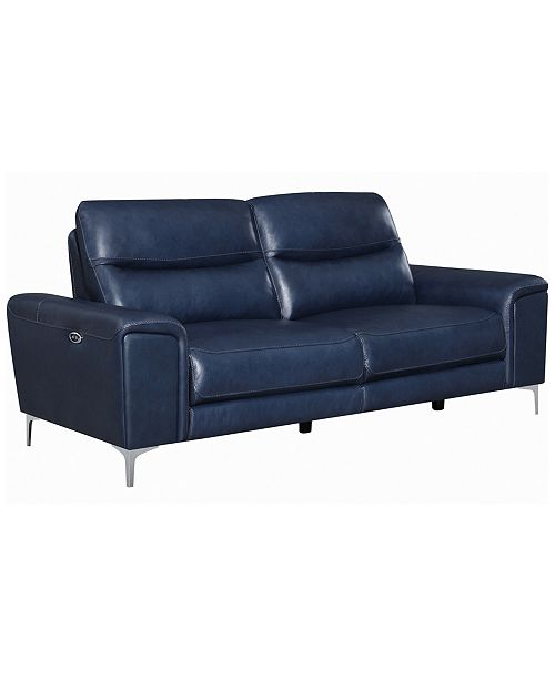 Coaster Home Furnishings Largo Upholstered Power Sofa