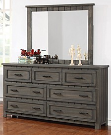 Napoleon 7-Drawer Dresser with Paneled Design