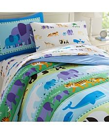 Wildkin Endangered Animals Twin Lightweight Comforter Set