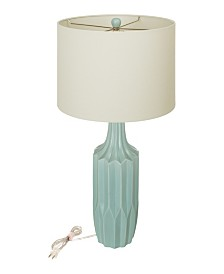 Glitzhome Nordic Minimalism Ceramic Matte Table Lamp