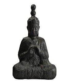 Moe's Home Collection Rustic Sitting Buddha