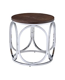 Jayme Round End Table
