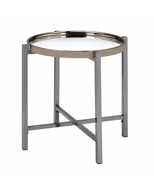 Groovy Monaco Round End Table Pabps2019 Chair Design Images Pabps2019Com