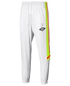 Men's LuXTG Jacquard-Stripe Joggers