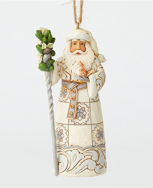 Enesco Jim Shore  exclusive Santa ornament