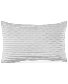 "Pleat Velvet 14"" x 22"" Decorative Pillow"
