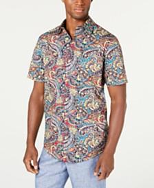 Tasso Elba Men's Piave Paisley Print Shirt