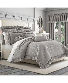 Piper & Wright Emily Alloy King 3pc. Comforter Set