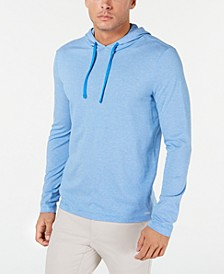 Men's Birdseye Weave Hoodie T-Shirt