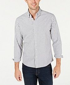 Men's Slim-Fit Stretch Gingham Shirt, Created For Macy's
