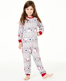 Matching Family Pajamas Kids Polar Bear Pajamas, Created For Macy's