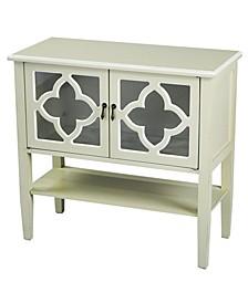 Heather Ann Frasera 2-Door Console Cabinet with Drawer