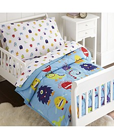 Monsters Sheet Set - Toddler