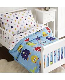 Wildkin's Monsters Sheet Set - Toddler