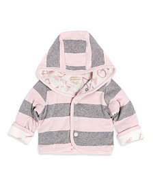 Burt's Bees Baby Organic Cotton Watercolor A Bee C Reversible Jacket