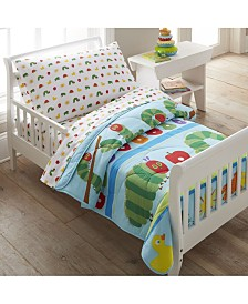 Wildkin The Very Hungry Caterpillar Cotton Toddler Lightweight Comforter